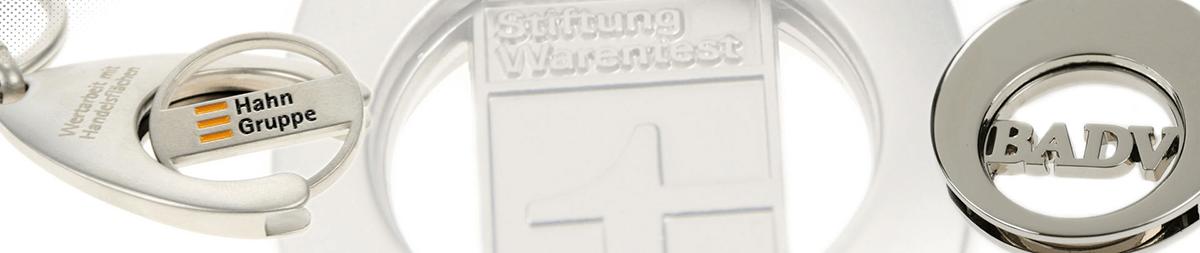 Einkaufswagenchips aus Metall - Spritzgussverfahren